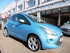 Ford Ka 1.2 (69ps) (s/s) Zetec Hatchback 3d 1242cc
