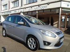 Ford Grand C-MAX 1.6TDCi (115ps) Zetec 7seats MPV 5d 1560cc