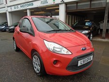 Ford KA 1.2 (s/s) Studio Hatchback 3d 1242cc